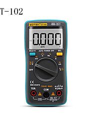 cheap -ZT102 Digital Auto Range Portable Multimeter 6000 counts Backlight Ammeter Voltmeter Ohm English/Russian user manual