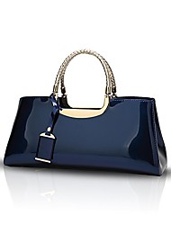 cheap -2019 women's handbags fashion designer patent leather casual cross-body top-handle shoulder