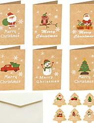 cheap -1 SET Christmas Decorations Christmas Ornaments Cards