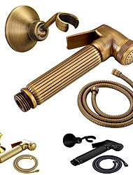 cheap -Bidet Faucet BrushedToilet Handheld bidet Sprayer Self-Cleaning Antique