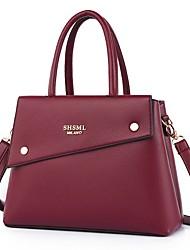 cheap -Women's Bags Satchel Top Handle Bag Date Office & Career Handbags Black Blue Purple Red
