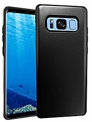 cheap -case for samsung galaxy note 8 armor 6.3 inch heavy duty defender protective,shockproof rubber bumper cover (black)