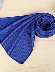 cheap -apelila instant cooling towel ice cold outdoor activities sport pad gym running jogging chilly yoga (1 pc d- blue)