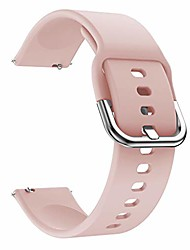 cheap -sports silicone replacement for samsung galaxy watch watch band straps 42mm silicone(pink,as described)