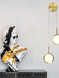 cheap -Mirror LED Nordic Style Flush Mount Wall Lights Living Room Shops Cafes Iron Wall Light 110-120V 220-240V