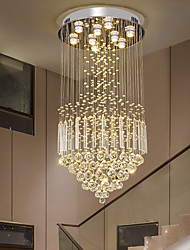 cheap -50cm LED Crystal Chandelier Ceiling Light DIY Modernity Luxury Globe K9 Crystal Pendant Lighting Hotel Bedroom Dining Room Store Restaurant LED Pendant Lamp Indoor Crystal Chandeliers Lighting