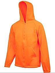 cheap -men's knit jersey jacket with hood, blaze/blaze, 2x- large