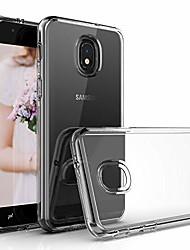 cheap -samsung galaxy j7 2018/j7 refine/j7 v j7v 2nd gen/j7 star/j7 top/j7 crown case, [2 in 1 series] hybrid shockproof drop protective impact rugged heavy duty dual layer armor phone case clear