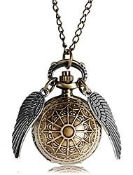 cheap -antique magic quartz pocket watch 3