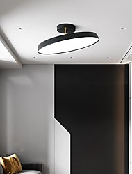 cheap -30/40 cm LED Ceiling Light Nordic Black Gray Geometric Shapes Flush Mount Lights Metal Painted Finishes Nature Inspired Modern Christmas Decoration  110-120V 220-240V