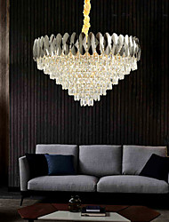 cheap -80 cm Globe Design Chandelier Metal Electroplated Modern 110-120V 220-240V
