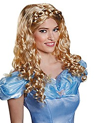 cheap -disguise women's cinderella movie adult costume wig, blonde, one size