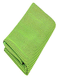 cheap -cooling ice sports towel, innovative bonus material cools as moisture evaporates, chilly towel stay cool for sports, workout, fitness, gym, yoga, pilates, travel, camping and more