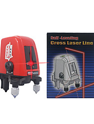cheap -Mini 2 Lines Red Laser Level Vertical Horizontal 360 degree Self-leveling Cross Red Line 1V1H1D 2 Lines 1 Point Mini AK435