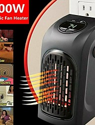 cheap -Mini Heater Plug-In 400W Indoor Bathroom Hotel Kitchen Bar EU US PLUG Portable Electric Space Heater Safe and Quiet Heat Up 100 Square Feet