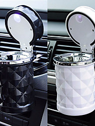cheap -Car Accessories Portable LED Light Car Ashtray Universal Cigarette Cylinder Holder Car Styling