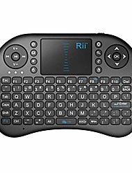 cheap -i8 mini bluetooth keyboard with touchpad&qwerty keyboard, portable wireless keyboard with remote control for smartphones /laptop/pc/tablets/ windows/mac/ tv/xbox/ps3/raspberry pi .black (renewed)