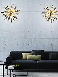 cheap -8-Light 19 cm Single Design Chandelier Metal Electroplated Modern 110-120V / 220-240V