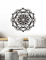 cheap -Creative Personality Flower Of Life Mandala Culture Yoga Home Background Decoration Can Be Removed Stickers 50*70CM
