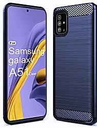 cheap -galaxy a51 case,samsung a51 case tpu shock absorption technology raised bezels protective for samsung galaxy a51(tpu black)