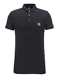 cheap -polo - mens passenger polo shirt in black