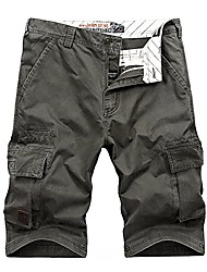 cheap -china summer shorts outdoor tooling shorts, green