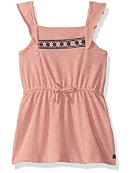 cheap -girls' toddler share my dreams tank dress, coral almond, 2