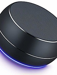 cheap -NUBWO Portable Bluetooth Speaker with Enhanced Bass and Stereo Sound 8H Playtime Bulti in Mic Mini Wireless Speaker Portable for Phone iPad Mac Tablet Echo(Black)