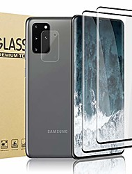 cheap -[2 + 1 pcs camera lens film] tempered glass screen protector for galaxy s20 plus, 9h hardness fingerprint sensor hd 3d screen protector for samsung galaxy s20 plus 5g (6.7 inch)