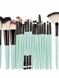 cheap -18pcs makeup brushes set profesional foundation blusher eyeshadow lips make up brush cosmetic set kit,a