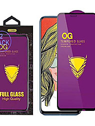 cheap -[2 pack] og golden armor protective film for huawei y9 prime (2019) / p smart z stk-l21 stk-l22 stk-lx3 6.59inch premium tempered glass 180cc large arc impact resistance hd screen glass protector