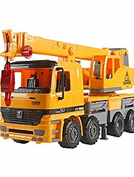 cheap -engineering crane truck vehicle kids toy 38cm large