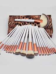 cheap -Professional Makeup Brushes 24pcs Full Coverage Plastic for Makeup Brush
