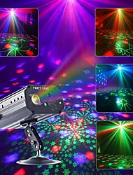 cheap -CHINLY Party Light RGB DJ Disco Laser Sound Activated LED Projector Christmas Halloween Decoration Wedding Gift Birthday Karaoke KTV Bars