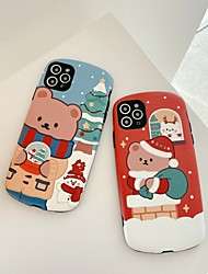 cheap -Phone Case For Apple Back Cover iPhone 12 Pro Max 11 SE 2020 X XR XS Max 8 7 Shockproof Cartoon Animal TPU