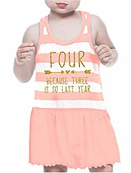 cheap -fourth birthday outfit girl four year old 4th birthday dress pink