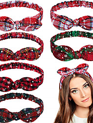 cheap -Hair Bands Hair Accessories synthetic fibre Wigs Accessories Women's    Festival Christmas / New Year's / Boho Flower