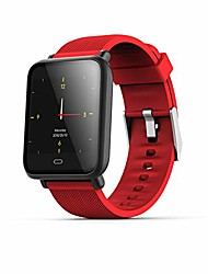 "cheap -smart watch fitness tracker with heart rate monitor activity tracker with 1.3"" tft hd screen ip67 waterproof pedometer smartwatch with sleep monitor step counter for kids women men (red)"