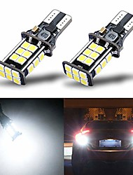 cheap -newest extremely bright 3030 chipsets t15 912 w16w 921 led bulbs error free for backup reverse lights,truck cargo lights, high mount/3rd brake lights, xenon white