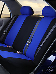 cheap -Car Seat Covers Set for Auto Truck Van SUV - Polyester Airbag Compatible Universal Fit (Light Blue 9-Pieces)