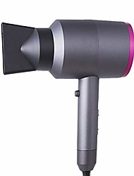 cheap -professional salon grade 1400w low noise ionic hair dryer plus1 concentrator and1diffuser (violet),gray