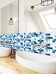 cheap -240*20CM 3D Mosaic White Cloud Blue Wall Sticker Bathroom Waterproof Tile Sticker Kitchen Oil Repellent and Antifouling Sticker