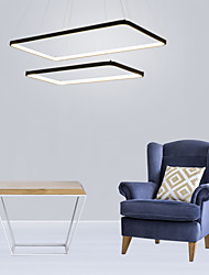 cheap -1-Light 40 cm Bulb Included / Adjustable / Dimmable Pendant Light Metal Acrylic Linear Painted Finishes Modern Contemporary 110-120V / 220-240V