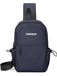 cheap -Men's Bags Crossbody Bag Daily Black Blue Gray