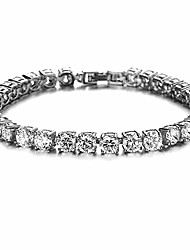 cheap -5mm iced out tennis chain bracelet hip hop link gold plated bling bracelet with aaa cubic zirconia diamond silver 10inch