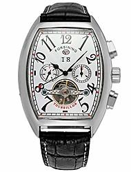 cheap -men's watch automatic self-winding tourbillon calendar brand learher strap collectiton watch
