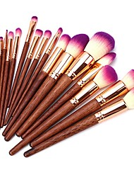 cheap -Professional Makeup Brushes 17pcs Full Coverage Wooden / Bamboo for Eyeshadow Brush