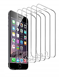 cheap -5-Pack Screen Protector For iPhone 12 Pro max iPhone 11 iPhone X XS MAX iPhone SE2020 iPhone 8/7 Tempered Glass Screen Protector 3D Touch Anti-scratch Screen Protector
