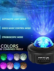 cheap -Galaxy Light Projector Night Light Starry Lamp Bluetooth Speaker with Remote Control and Timer Colour Changing Music Player for Kids Adults Party Birthday Room Home Decoration