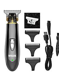 cheap -WMARK NG-2027 Zero-cut trimmer detail trimmer beard car hair clipper electric haircut razor edge T-wide blade 7000 RPM